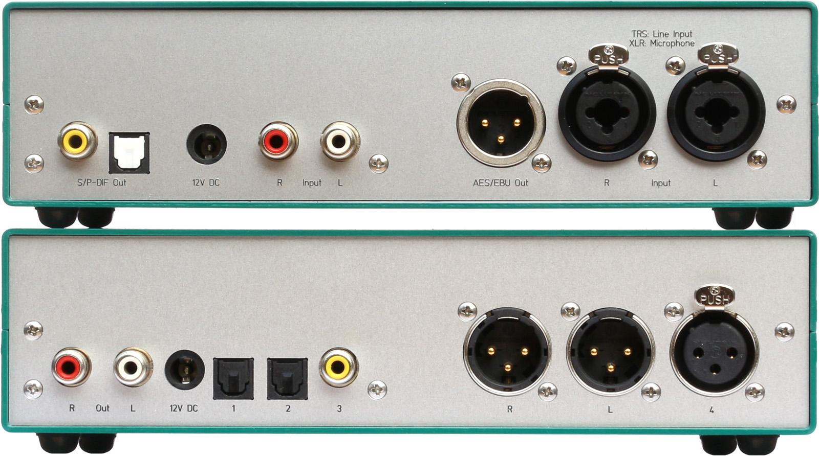 AD24QS - Audio Analog to Digital Converter 24 Bit / 192 kHz
